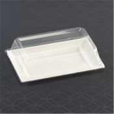 Elegant Disposable Plastic Rectangle Plate Dome Lids